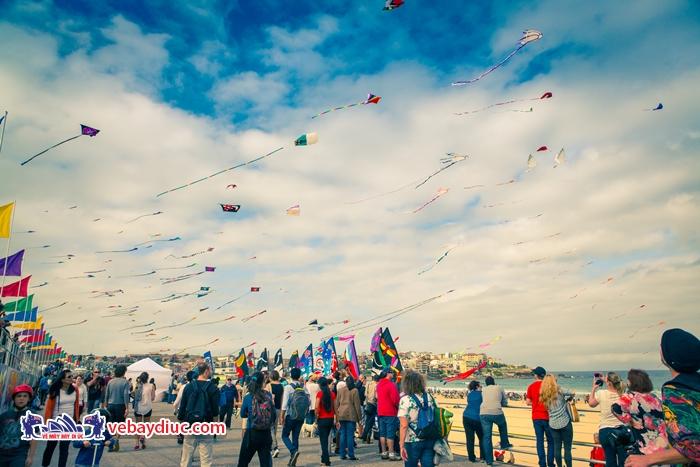 Lễ hội gió vào màu Xuân tại Úc