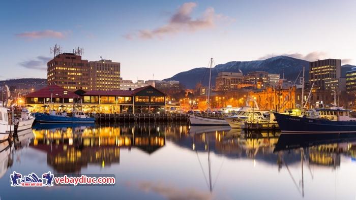 Hobart - thành phố cổ của Úc