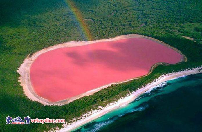 Khám khá bí ẩn hồ nước màu hồng Hillier