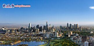 Toàn cảnh thành phố Melbourne
