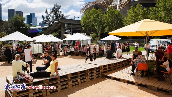 Lễ hội Lễ hội Ẩm thực và Rượu vang Melbourne