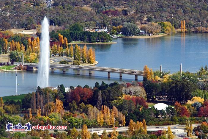Cảnh sắc thiên nhiên thủ đô Canberra