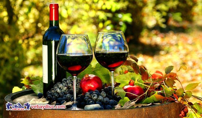 Mua rượu vang Úc làm quà