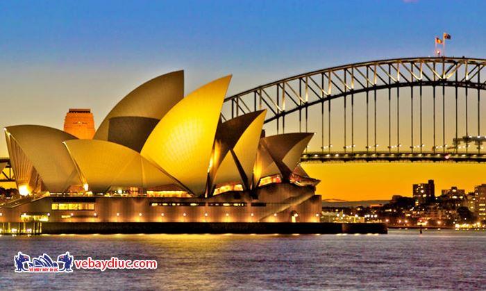 Úc có nhiều điểm đến đẹp