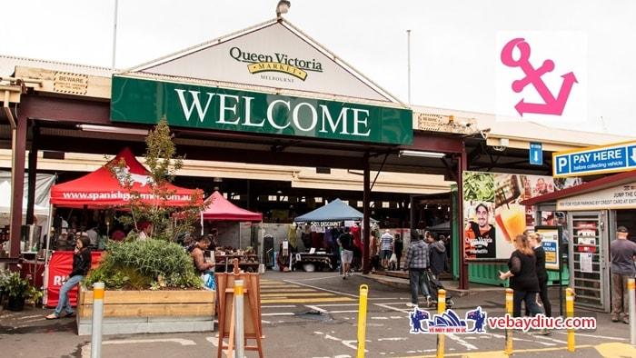 Thăm khu chợ Victoria